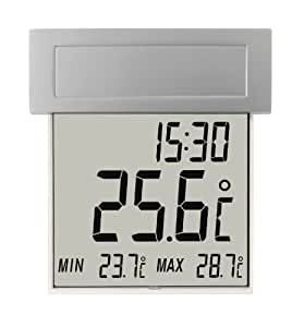 TFA 30.1035 Vision Solar Digital Window Thermometer