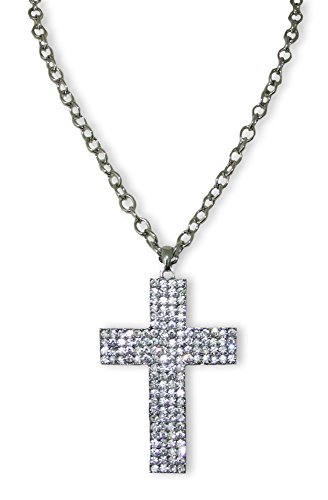 Halskette mit großem Strass ()