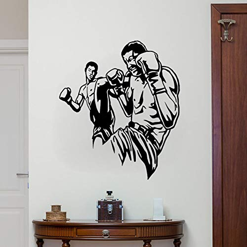 55 CM * 63,5 CM Interessante Boxhandschuhe PVC Decor Wandaufkleber Gym Jungen Kinderzimmer Aufkleber