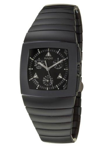 Rado Herren-Armbanduhr Chronograph Quarz Keramik 538.0764.3.015