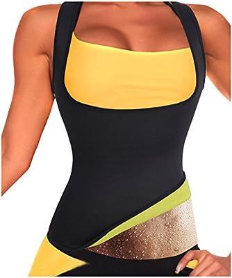 Gotoly Damen Neopren-Shapewear Abnehmen heißen Sauna Slimming Tank Top