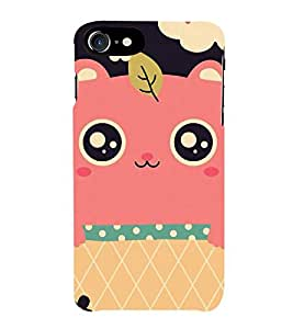 Cute Cartoon 3D Hard Polycarbonate Designer Back Case Cover for Apple iPhone 7 Plus