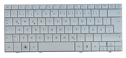 NExpert Orig. QWERTZ Tastatur für HP Compaq Mini 110-1000 110-1100 110-1150 1160 DE Weiß Neu (Compaq Ersatzteile)