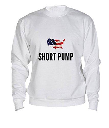 Felpa Short pump city White