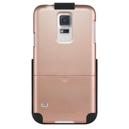 Seidio BD2-HR3SSGS5-RG Surface Hülle Combo für Samsung Galaxy S5 Gold - Seidio Holster-design