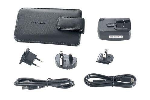 Garmin Pack (GARMIN Pack de voyage 4,3' et 5' - Housse de protection mini et micro USB + chargeur secteur - Noir)