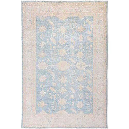 Solo Rugs Silky Oushak Handgeknüpfter Teppich, 1,8 x 2,4 m, Rotkehlchen (X Teppich 12 Persisch 15)