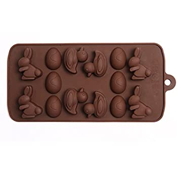 Moule à chocolat silicone Oeuf Lapin Canard pour Pâques