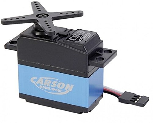 Carson 500502015 - CS-3 Servo 3KG/JR - 12 Standard-motor