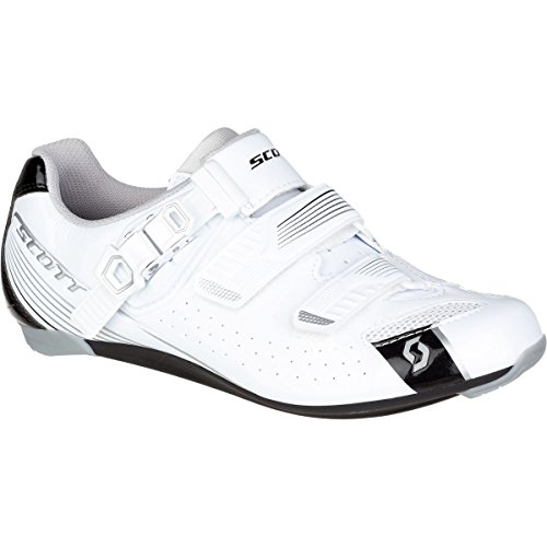 Scott 2017Damen Road Pro Lady Bike Schuhe-251823, Damen, Gloss White/Gloss Black, 37 -