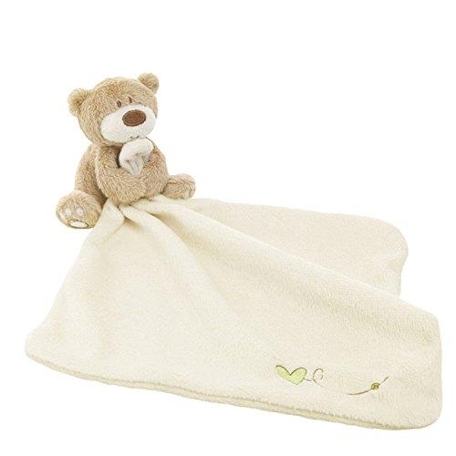 Gosear Lovely Bear Baby Security Blanket Beige