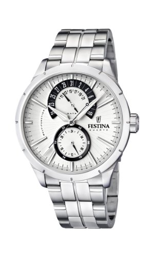 Festina Men's Quartz Watch F16632/5 with Metal Strap