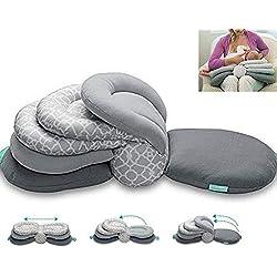 Coussin d'allaitement, Coussin d'allaitement multifonctions Infant Feeding Coussin de support réglable pour bébé d'allaitement nourrir bébé Oreiller Positionneur