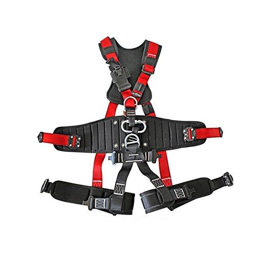 Imbracatura Di Sicurezza Per Tutta La Seduta Imbragatura Professionale Arrampicata Su Roccia Corda Di Montagna Potenza Aerea Lavoro-nero