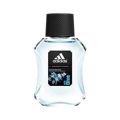 adidas Ice Dive Eau de Toilette - Erfrischendes Herren Parfüm mit holzig-aromatischem Duft für eine positive Ausstrahlung - 1 x 50 ml -