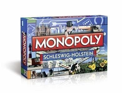 Monopoly Schleswig-Holstein Edition - Das berühmte Spiel um den großen Deal!
