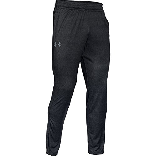 Under Armour Tech Pant Men's Trousers, Black / Black / Steel (001), Large