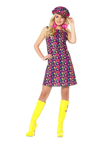 1960er Hippie Kostüm - SMIFFY 'S 47391s 1960er Psychedelic CND