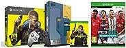 Xbox One X Cyberpunk 2077 Limited Edition Bundle (1TB)&efootball PES 2021 Season Update (Xbox