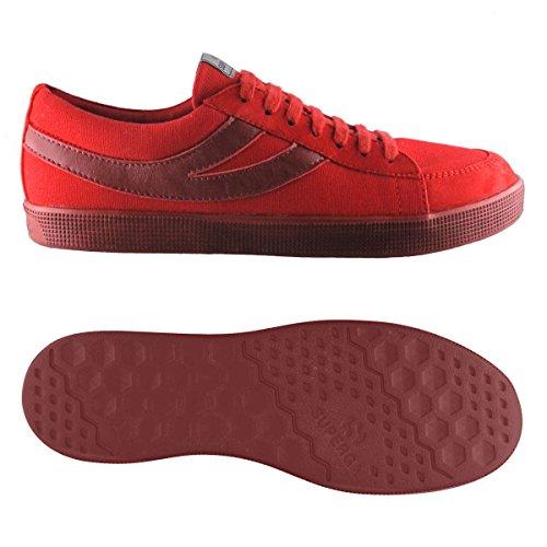 Sneakers - 4571-cotwashsueu Rouge