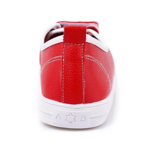Coolcept Femmes Printemps Espadrilles Escarpins Chaussures red