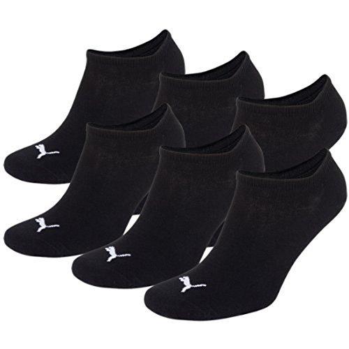 Composite-toe Sneaker (PUMA Unisex Sneakers Socken Sportsocken 6er Pack black / black 200 - 35/38)