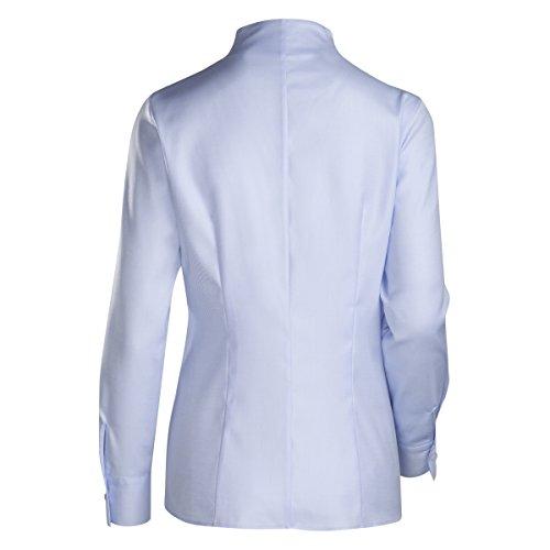 JACQUES BRITT Damen Bluse Bügelleicht Streifen City-Bluse bleu (0012) ...