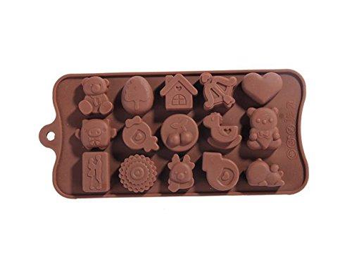 Form2Go Pralinenform: Silikonform für Schoko-Pralinen oder Eiswürfel - hochwertigen...