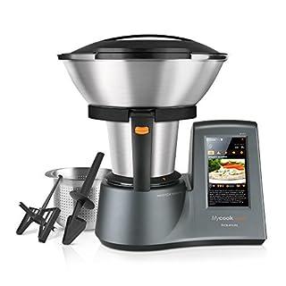 """Taurus Mycook Touch - Robot de cocina por inducción de 40 a 140º C, pantalla táctil de 7"""", 10 velocidades y cuatro funciones especiales, 1600 W, Acero Inoxidable, Gris (B018W7L7PE)   Amazon Products"""