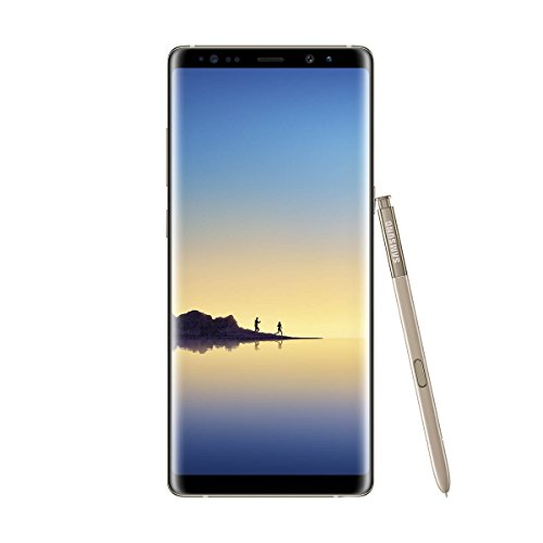 Samsung Galaxy Note8 Smartphone (6,3 Zoll (16,05 cm) Touch-Display, 64GB interner Speicher, Android 7.1) Maple Gold