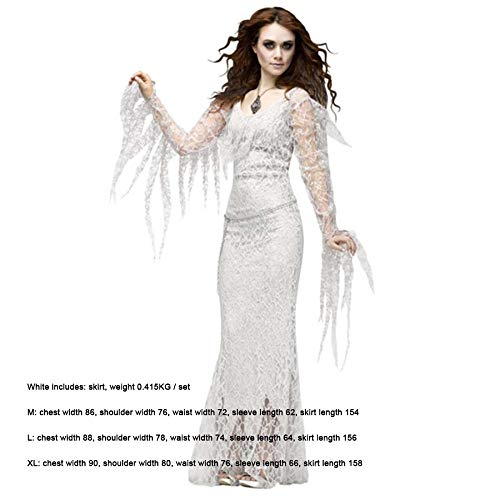 SPFAZJ Halloween Horror Cosplay Cosplay Kostüm Gespenst Braut Vampir Dämon Kostüm - Dämon Braut Kostüm