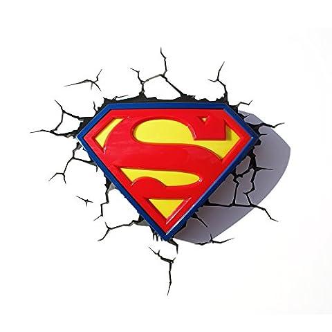 DC Comics Superman Lampe logo 3D