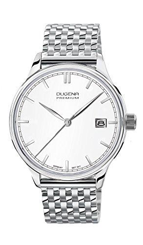 Dugena Herren-Armbanduhr Sigma - Traditional Classic Analog Quarz Edelstahl 7090250