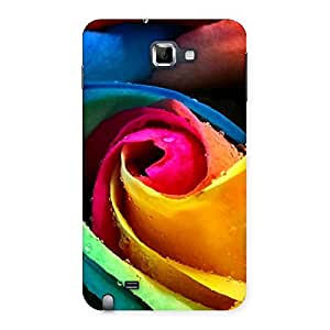 Impressive Rose Droplets Multicolor Back Case Cover for Galaxy Note