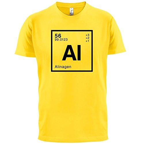 Alina Periodensystem - Herren T-Shirt - 13 Farben Gelb