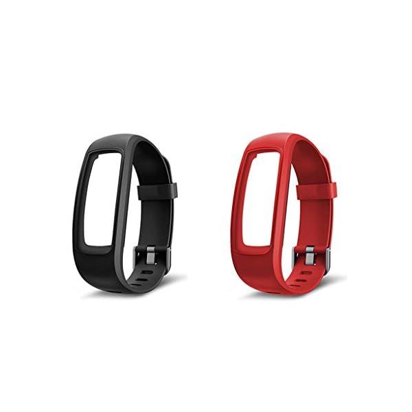 siwetg Pulsera De Correa De Repuesto para Monitor Fitness Tracker para Reloj Inteligente ID107 Plus 4