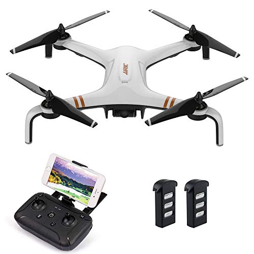QYLT GPS Drone, 5G WiFi FPV RC, Telecamera Quadcopter HD 1080P, Smart Return Home, Telecamera Grandangolare Regolabile, Altitude Hold, Smart Battery, Long Range Control