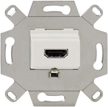 Rutenbeck 17010553 Anschlussdose 1-Fach, KM-HDMI Up 0 rw Hdmi-steckdose
