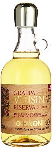 Nonino Grappa Vuisinâr 41% vol im Wildkirschenholzfaß gereift (1 x 0.7 l)