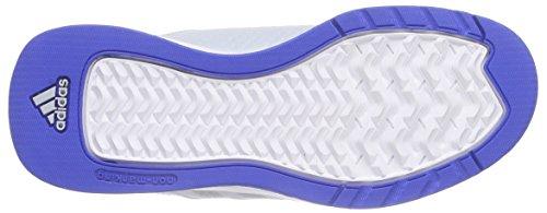 adidas Performance Jan BS 2 Unisex-Kinder Basketballschuhe Grau (Clear Grey S12/Silver Met./Blue)