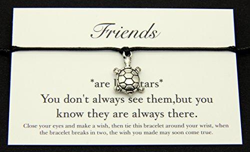 friends-like-stars-handmade-wish-bracelet-tibetan-silver-turtle-charm-birthday-friendship-best-frien