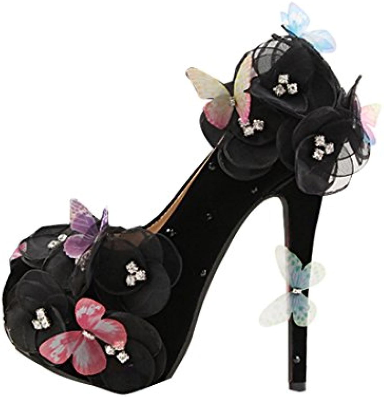 2fa95a1f0b72bf MINITOO MinitooUK-MZ8251, Escarpins pour Femme - Noir - Black-14cm Heel,  Heel, Heel, 36.5 EUB07BBRG13PParent | Exquis Art 5ad732