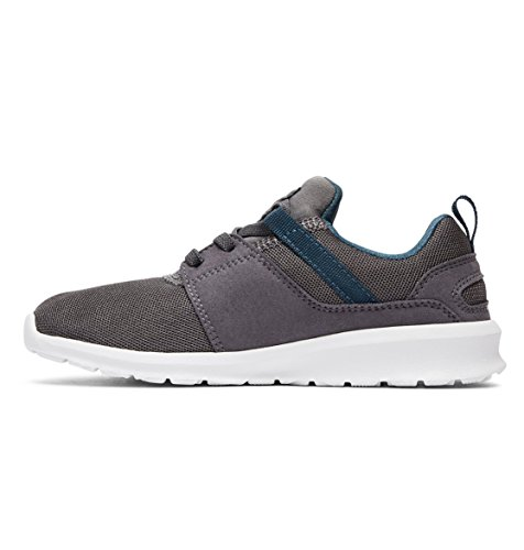 DC Heathrow, Sneakers Basses Garçon Gris - Grey