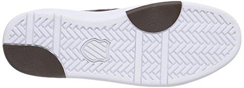 K-Swiss D R Cinch Chukka, Baskets Basses homme Braun (Chocolate/White 295)
