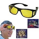 Diswa Amazing Day & Night HD Vision Goggles Anti-Glare Polarized Sunglasses Men/Women Driving Glasses Sun Glasses UV Protection car Drivers