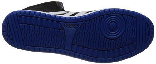 adidas Herren Hoops Vs Mid Basketballschuhe mehrfarbig (Cblack/Ftwwht/Blue)