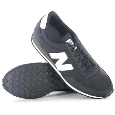 New Balance U410MNKK Classic Medium Moyen Black White Mens Trainers Size 8.5 UK