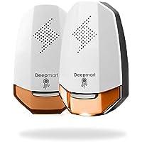 Deepmart® DM60 | Repellente ad Ultrasuoni per Topi - Scacciatopi Ultrasuoni - Repellente Antizanzare - Dissuasore per Topi Zanzare ed Insetti [Pacco da 2]