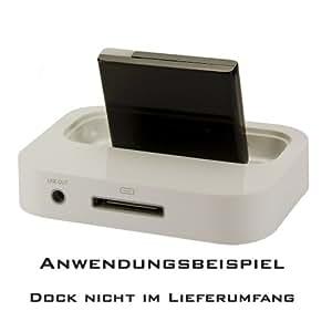 Pure² schnurloser Bluetooth HiFi Musikadapter für Dockingstations - Dock oder Sound Box vom iPhone 4 4s mit diesen Audio Empfänger von jedem Smartphone, Tablet oder PC, Musik schnurlos übertragen.