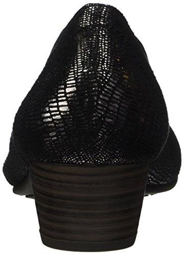 Softline 22361, Escarpins Femme Noir (Black Met Stru)